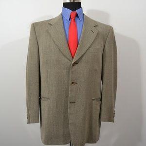 Canali US: 42R, EU: 52R Sport Coat Blazer Suit Jac